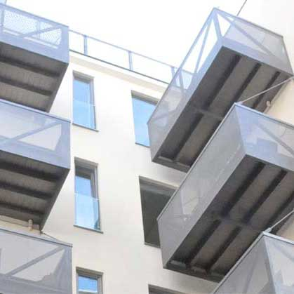 Balkone Neubaugasse